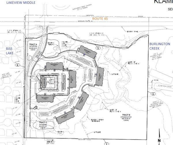 Apartments Proposed SEC Of Route 45 And Klamm Drive