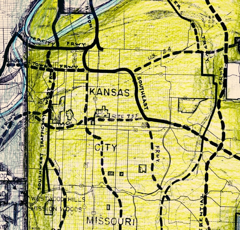1950s-Kansas-City-Highway-Planning