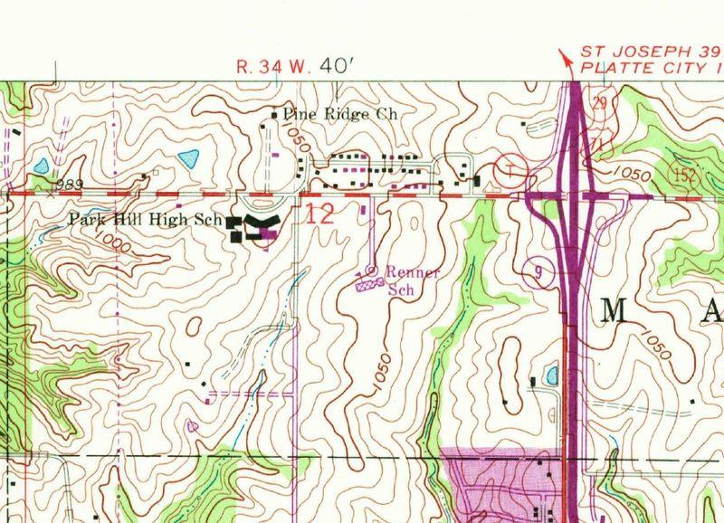 Park-hill-1964-usgs