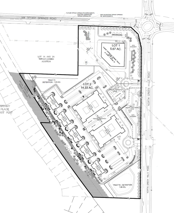 Proposed Apartments And Self Storage At Green Hills And
