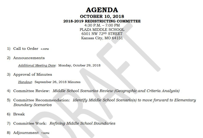 Park-Hill-Redistricting-Agenda-October10